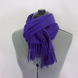 Johnstons Cashmere Scarf Purple Scotland